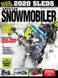 American Snowmobiler Magazine Cover