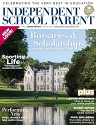 Independent School Parent Magazine Cover