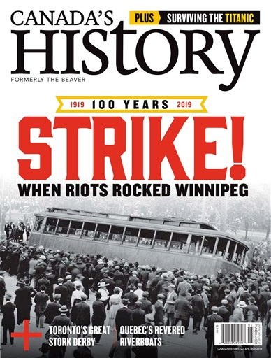 8990843780 Canada s History Magazine - Apr May 2019 Subscriptions