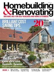 Homebuilding & Renovating Magazine Magazine Cover
