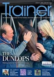 Trainer: European Edition Magazine Cover