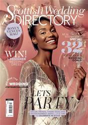 The Scottish Wedding Directory Magazine Cover