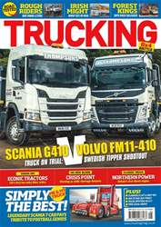 Trucking Magazine Magazine Cover