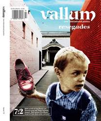Vallum Magazine Cover