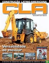 Construction Latin America Portugal Magazine Cover