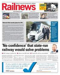Railnews Magazine Cover