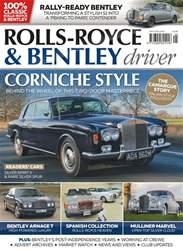 Rolls-Royce & Bentley Driver Magazine Cover