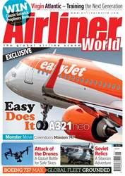 Airliner World Magazine Cover