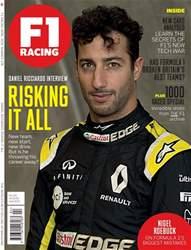 F1 Racing Magazine Cover