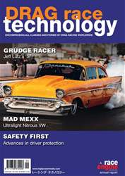DRAG Race Technology Magazine Cover