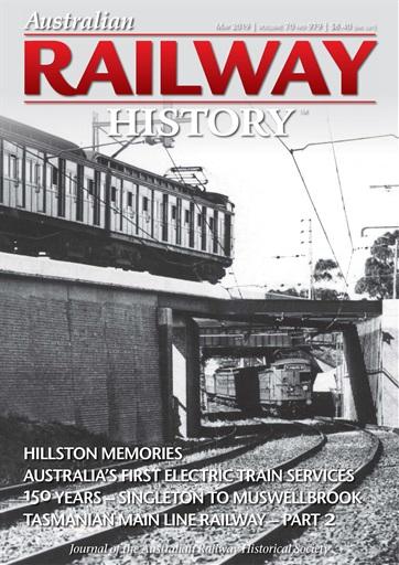Australian Railway History Preview