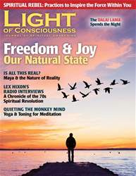 Light of Consciousness Magazine Cover