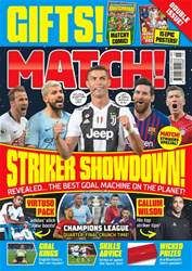 Match Magazine Cover