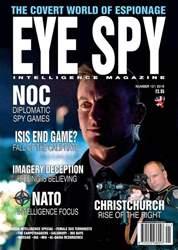 Eye Spy Magazine Cover