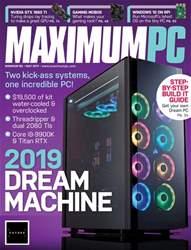 Maximum PC Magazine Cover