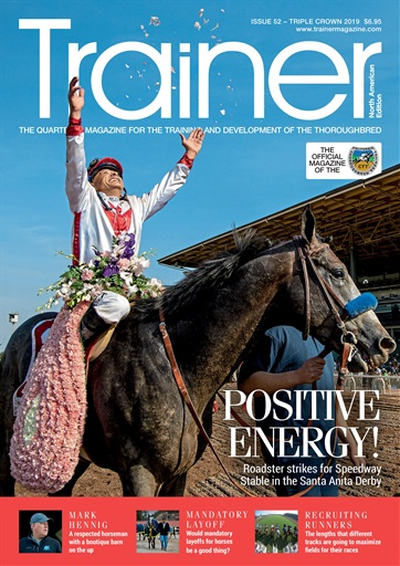 North American Trainer Magazine - horse racing Back Issues