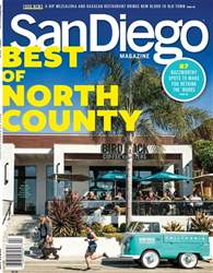 San Diego Magazine Magazine Cover