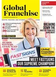 Global Franchise Magazine Cover