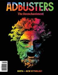 Adbusters Magazine Cover