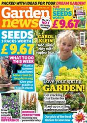 Garden News Magazine Cover