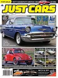 JUST CARS Magazine Cover