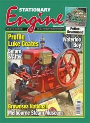 Stationary Engine Magazine Cover