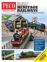 Peco Modellers' Library Magazine Cover