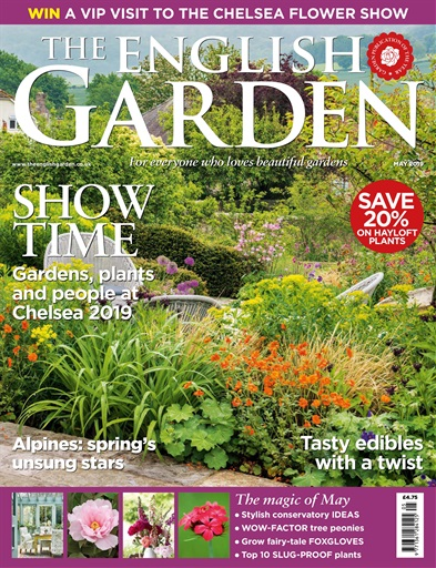 The English Garden Magazine May 2019 Subscriptions Pocketmags