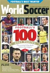 World Soccer Magazine Cover