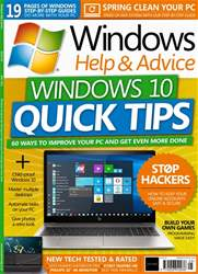 Windows Help & Advice Magazine Cover