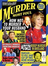 Murder Most Foul Magazine Cover