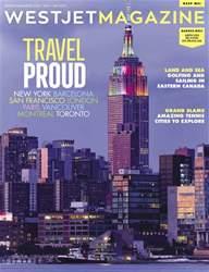 WestJet Magazine Magazine Cover