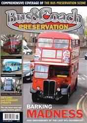 Bus & Coach Preservation Magazine Cover