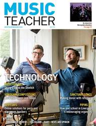Music Teacher Magazine Cover