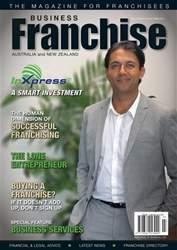 Business Franchise Australia&NZ Magazine Cover