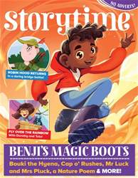 Storytime Magazine Cover