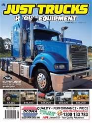 JUST TRUCKS Magazine Cover