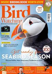 Bird Watching Magazine Cover