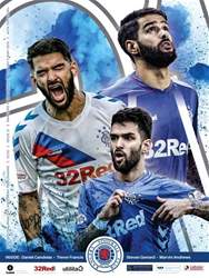 Rangers Football Club Matchday Programme Magazine Cover