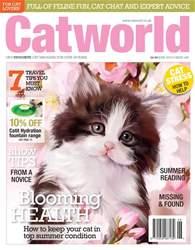 Cat World Magazine Cover