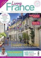 Living France Magazine Cover
