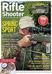 Rifle Shooter Magazine Cover