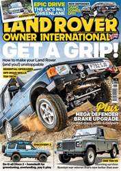 Land Rover Owner Magazine Cover
