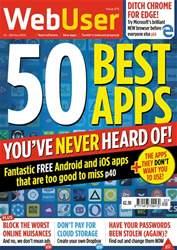 Webuser Magazine Cover