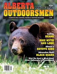 Alberta Outdoorsmen Magazine Cover