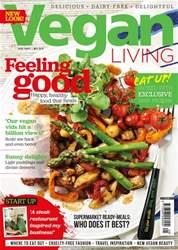 Vegan Living UK Magazine Cover