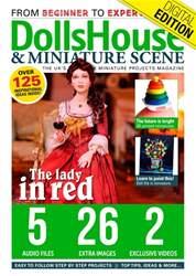 Dolls House and Miniature Scene Magazine Cover