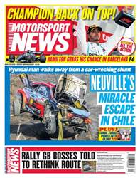 Motorsport News Magazine Cover
