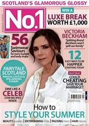 Number 1 Magazine Magazine Cover