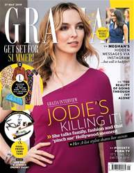 Grazia Magazine Cover